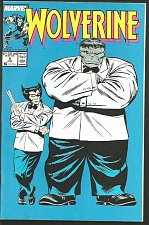 Buy WOLVERINE #8 HULK VF High Grade Marvel Comics 1989