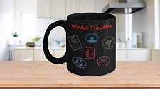 Buy World Traveler Coffee Mug