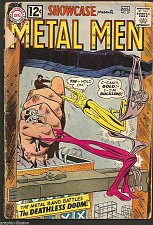 Buy SHOWCASE #39 METAL MEN 1962 DC COMICS 1st Series 3rd appearance