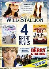 Buy 4movie DVD Wild Stallion,Undercover Angel,Winning Tale,Derby Stallion Zac EFRON