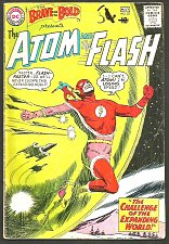 Buy BRAVE & BOLD #53 ATOM & FLASH of JLA DC COMICS 1964 Hanley/Toth SILVER AGE COMIC