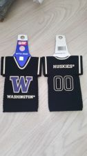 Buy Lot of 2 Washington Huskies (BLACK) Bottle Jersey Koozies (405)