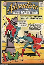 Buy ADVENTURE COMICS #328 DC COMICS 1965 1st print & series VF-range SUPERBOY/LEGION