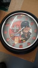"Buy Dale Earnhardt Jr Coke Cola 7"" Metal Wall Clock"