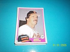 Buy 1981 Topps Traded jerry martin giants #798 mint free shipping
