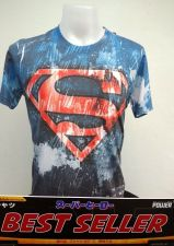 Buy Superman Cotton 100 % T-Shirt Super Hero Dccomics,Warner Bros. Multi-Color