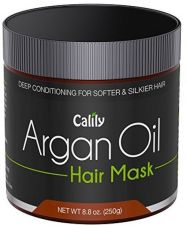Buy Calily Premium Natural Argan Oil Hair Mask, 8.8 Oz. - Deep Conditioner - Hair,