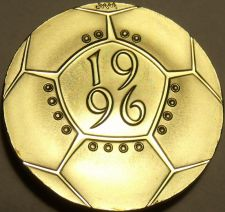 Buy Gem Cameo Proof Great Britain 1996 2 Pounds~Championship Of Football~Free Ship