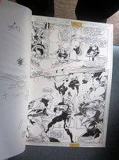 Buy Original Comic Art XenoBrood Issue 6 Page 8 DC Comics 1995 Chris Hunter