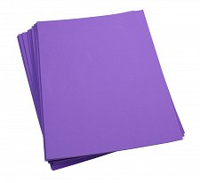 Buy Craft Foam Sheets--9 x 12 Inches - Purple - 10 Sheets-2 MM Thick