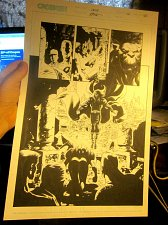 Buy Original Comic Book Artwork CRUX issue 22 Page 10 Steve Epting GREAT ART