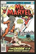 Buy Ms. Marvel #15 Marvel Comics 1978 Claremont 1stSeries SHARK DeZuniga Mooney FINE