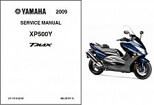 Buy 2009-2011 Yamaha TMAX 500 ( XP500 ) Scooter Service Manual on a CD