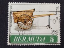 Buy Bermuda 1v used stamp 1991 1991 Bermuda Transport IV – Private Carriages