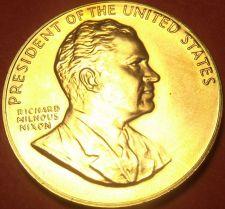 Buy Gem Unc Richard Nixon Presidential Bronze Inauguration Medallion~Free Shipping