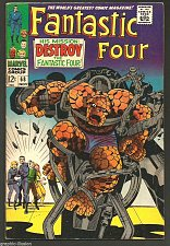 Buy Fantastic Four #68 Marvel Comics Jack Kirby Stan Lee NICE 1st print & series