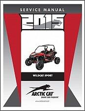 Buy 2015 Arctic Cat Wildcat Sport Service Repair Workshop Manual CD