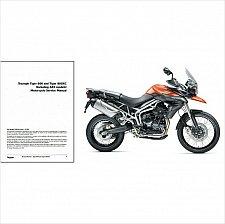 Buy 2010 2011 2012 2013 Triumph Tiger 800 / 800XC Service Repair Manual on a CD