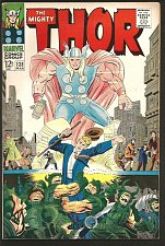 Buy THOR #138 JACK KIRBY STAN LEE Marvel Comics 1967 hot! VF- or better