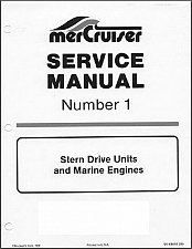 Buy 1963-1973 MerCruiser #1 Stern Drive Units and Marine Engines Service Manual CD