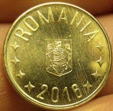 Buy Gem Unc Romania 2016 Bani~Coat Of Arms~Free Shipping