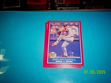 Buy 1987 Fleer REVCO Hottest Stars #29 KIRK MC CASKILL FREE SHIPPING