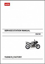 Buy 2006-2011 Aprilia Tuono 1000 R Factory Service Repair Workshop Manual CD - 1000R