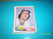 Buy 1981 Topps Traded randy lerch brewers #792 mint free shipping