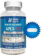 Buy APEX-TX5 Ultra Fat Loss Catalyst - 120 Tablets - Pharmaceutical Grade For and -