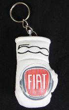 Buy Fiat 500 Mini Boxing glove Keyring