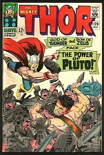 Buy THOR #128 JACK KIRBY Marvel Comics 1966 STAN LEE 1st series PLUTO HERCULES