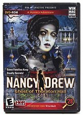 Buy sealed - NANCY DREW Ghost of Thornton Hall DVD-Rom Mystery Game HER INTERACTIVE