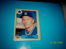 Buy 1987 Topps Traded Baseball CARD OF MIKE KINGERY MARINERS #T58 MINT