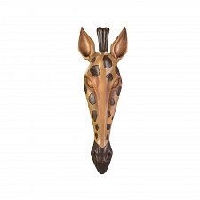 Buy *17311U - Wild Giraffe Brown Black Hanging Wall Plaque