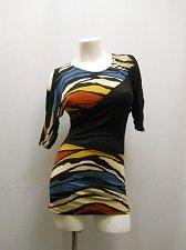 Buy Women Dress SIZE S TRUE LIGHT Geometric Dolman Cold Shoulder Clubwear Sexy Party