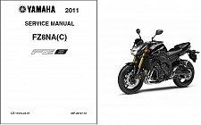 Buy 2011-2012-2013 Yamaha Fazer 8 ( FZ8 ) Service Manual on a CD