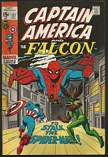 Buy CAPTAIN AMERICA #137 Marvel Comics 1stPrint& Marvel ComicsSeries 1971 SPIDERMAN