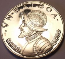 Buy Rare Proof Panama 1967 Balboa~Only 19,983 Minted~Awesome~Free Shipping