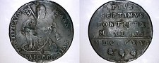 Buy 1816-XVIIB Italian States Papal States 1 Biaocco World Coin