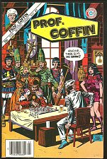 Buy PROF. COFFIN #21 Charlton Comics 1986 looks VF Wayne Howard