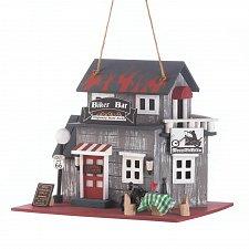 Buy *16849U - Biker Bar Route 66 Wood Birdhouse