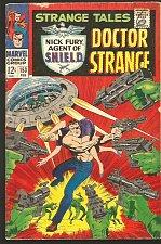 Buy STRANGE TALES #153 DR STRANGE / SHIELD Jack Kirby RoyThomas/ STERANKO Comics '66