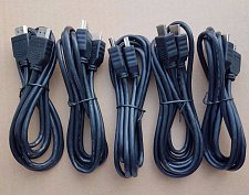 Buy 5 FIVE 6ft HDMI cable 1080P cord DirecTV,PS4,BlueRay,Dish Network,wire plug,HDTV