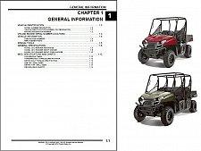 Buy 2013 Polaris Ranger 400 / 500 EFI UTV Service Manual on a CD