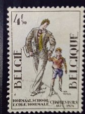 Buy Belgium used 1v stamp Belgie 1975 - Charles Buls NORMALE SCHOOL / NORMAL SCHO