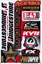 Buy 1 sheet New Rockstar Energy, Yoshimura Motocross Racing sticker Freeshipping
