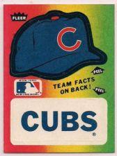 Buy 1983 Fleer Team Stickers (Pick a Team) BOGO