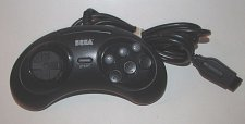 Buy factory genuine original wired remote CONTROLLER Sega Genesis Arcade pad 6button