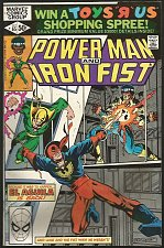 Buy Power Man and Iron Fist #65 Marvel Comics VF- 1981 Gammill AL AGUILA