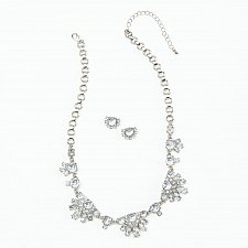 Buy *16230U - Icy Glamour Necklace & Earring Jewelry Set